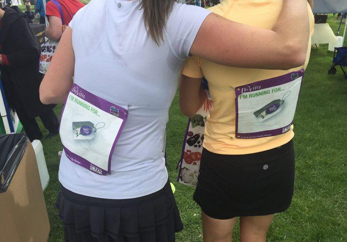Sponsor A Colfax Marathon runner