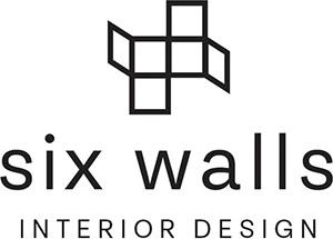 Six Walls Interior Design logo